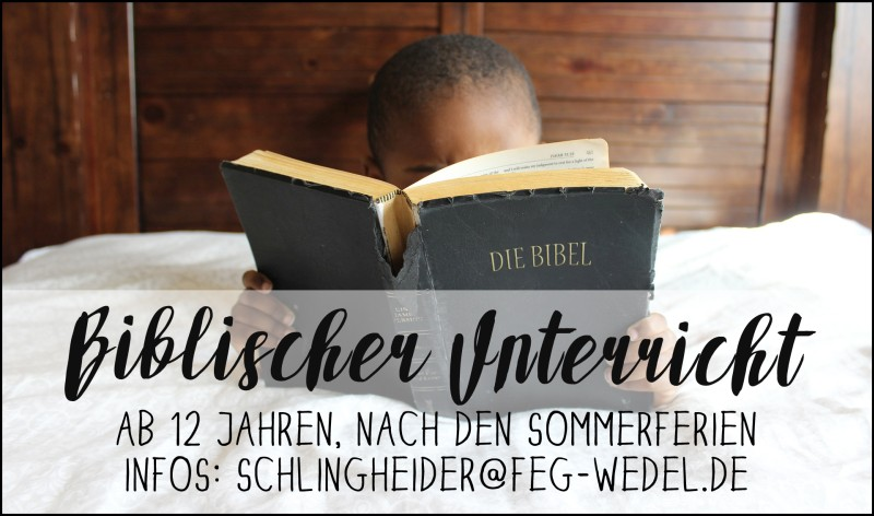 Einladung zum Biblischen Unterricht